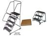 OPTIONS FOR SPRING LOADED CASTERS LADDERS