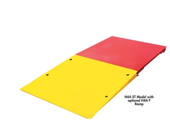 RAMPS AND BUMP GUARDS FOR LOW-PROFILE FLOOR SCALE