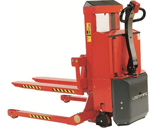 ELECTRIC LIFT/ELECTRIC PUSH SELFS STRADDLE STACKER