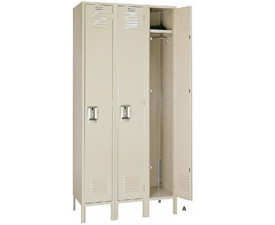 SINGLE TIER LOCKERS - KD