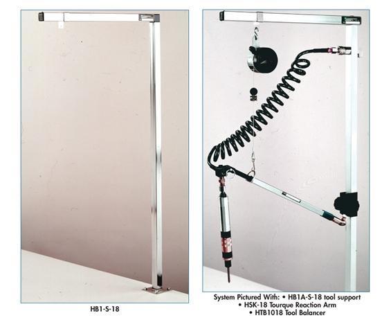 TELESCOPING 2-STAGE TORQUE REACTION ARM