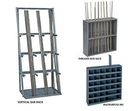 ALL-STEEL SPECIAL STORAGE UNITS