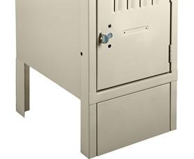 TENNSCO LOCKER ACCESSORIES - FRONT AND END BASE COVERS