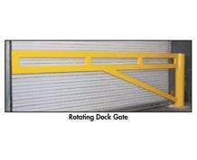 ROTATING DOCK GATES
